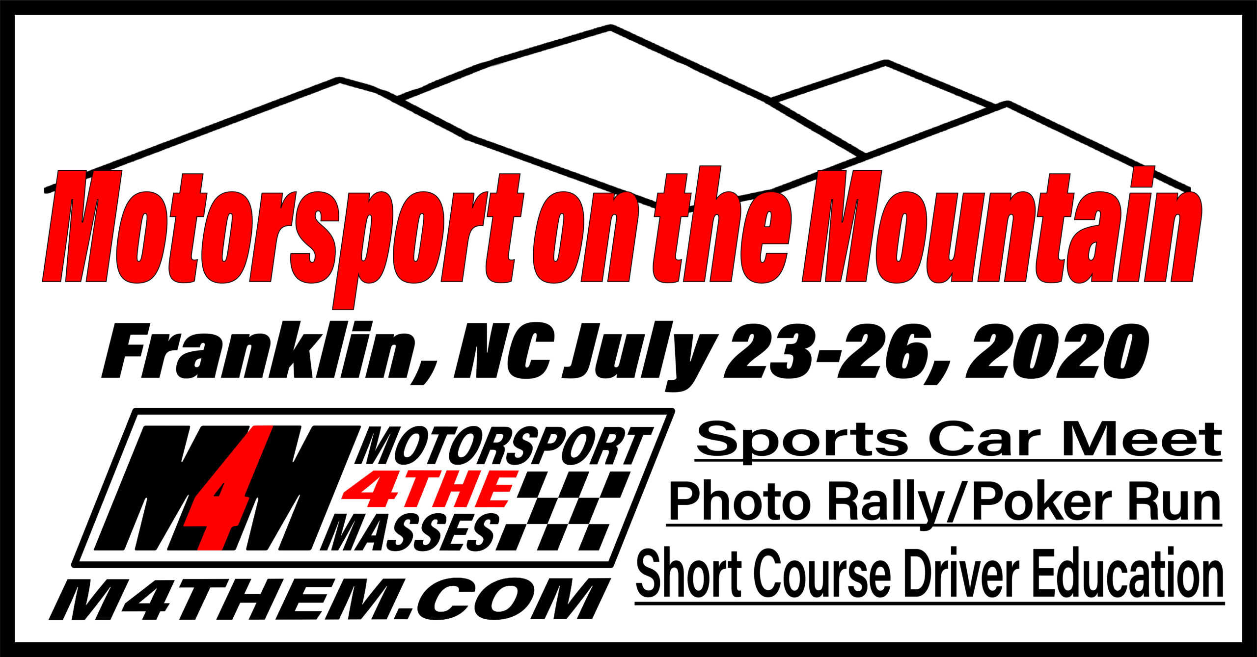 Motorsport on the Mountain is on and Kicking!