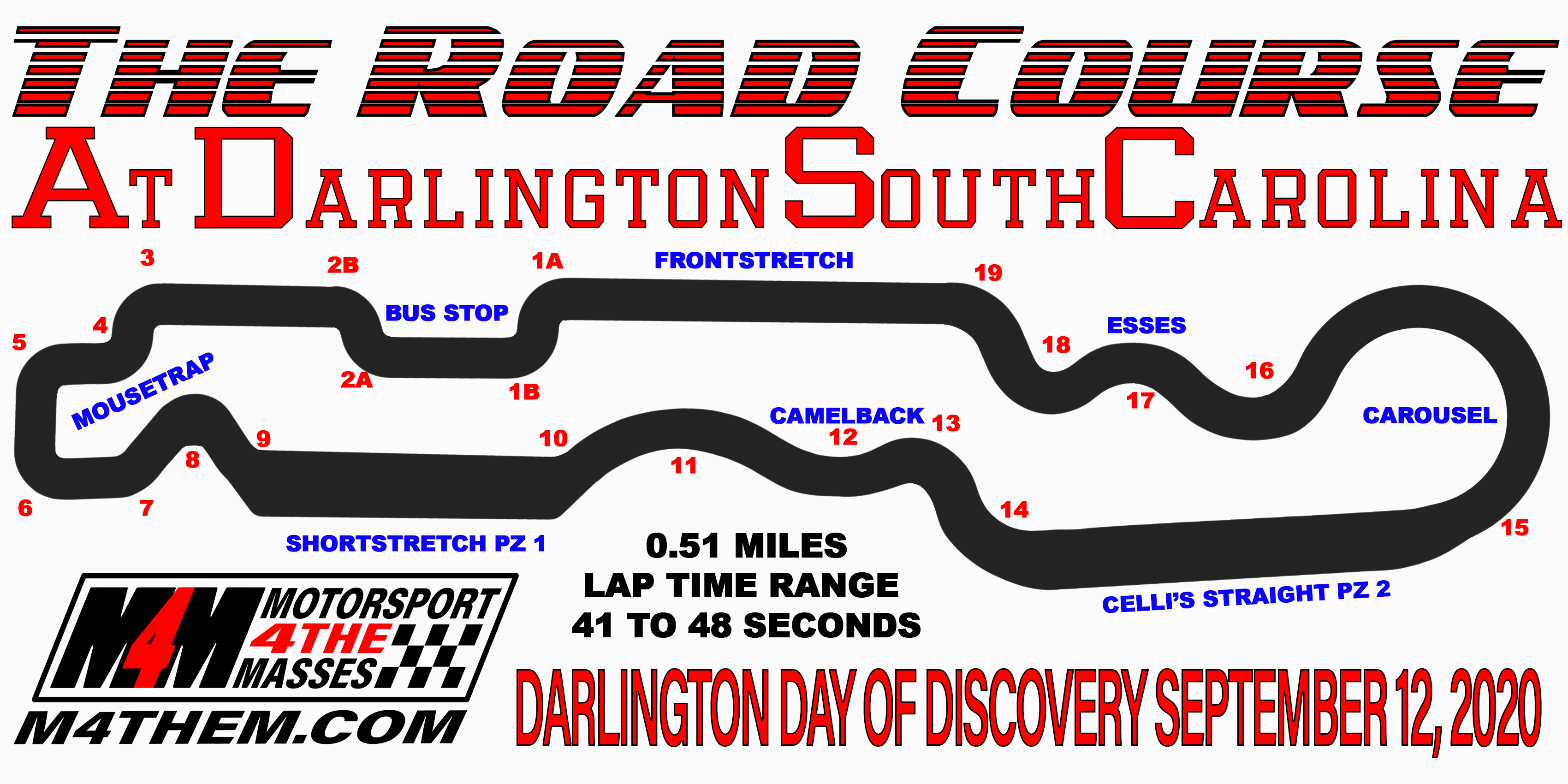 Darlington Day of Discovery AM Results